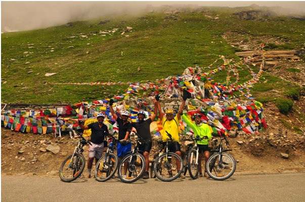 home itinerary manali cycle expedition