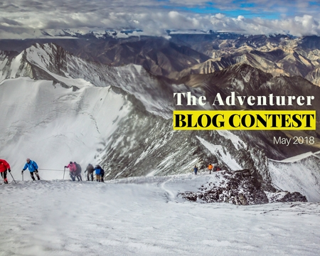 The Adventurer Blog Contest May - 2018