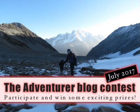 The Adventurer blog contest - July 2017