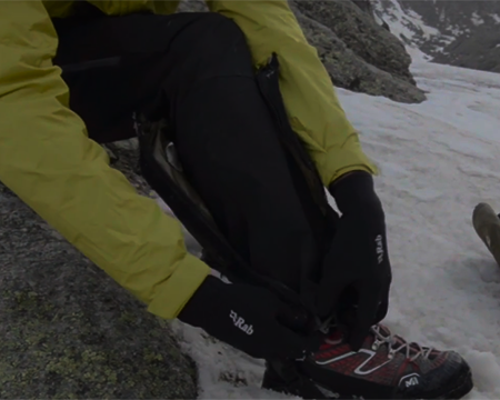 How to Use : Gaiters