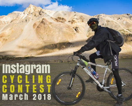 Instagram Cycling Contest March 2018