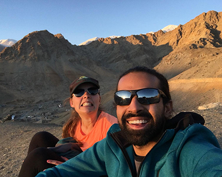 From Leh to Nubra with Wolves
