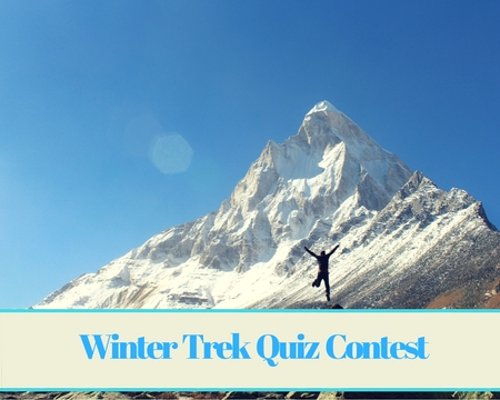 Winter Trek Quiz Contest October 2017