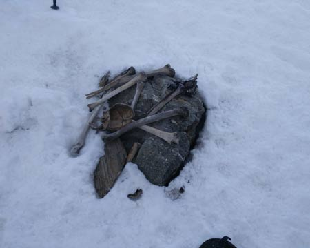 Roopkund Lake, Where The Skeletons Lay.