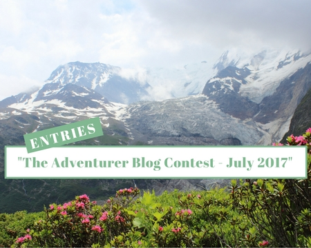 The Adventurer Blog Contest July 2017 Entries