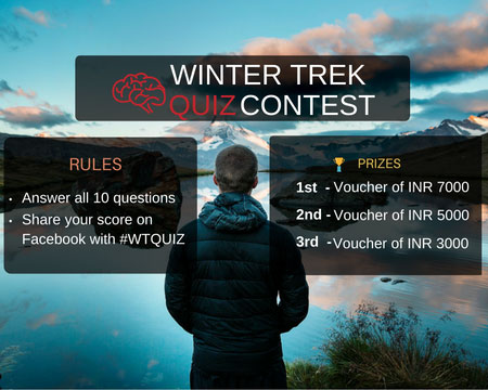 Winter Trek Quiz Contest