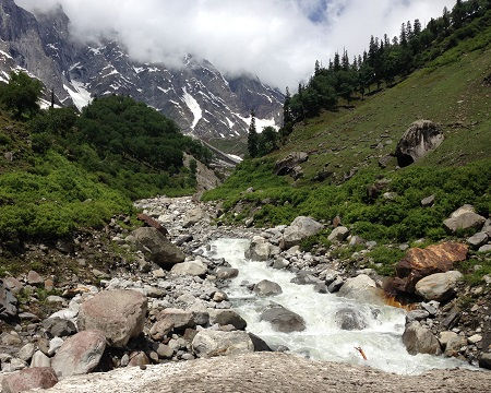 Zero Footprint Initiative on Beas Kund Trek