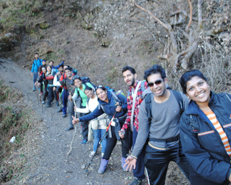 How Trekking Can Build Real Teams for Corporates