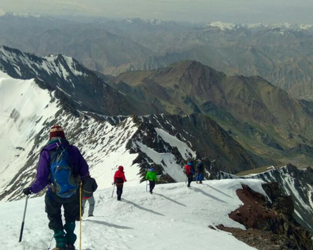 Stok Kangri trek blogs