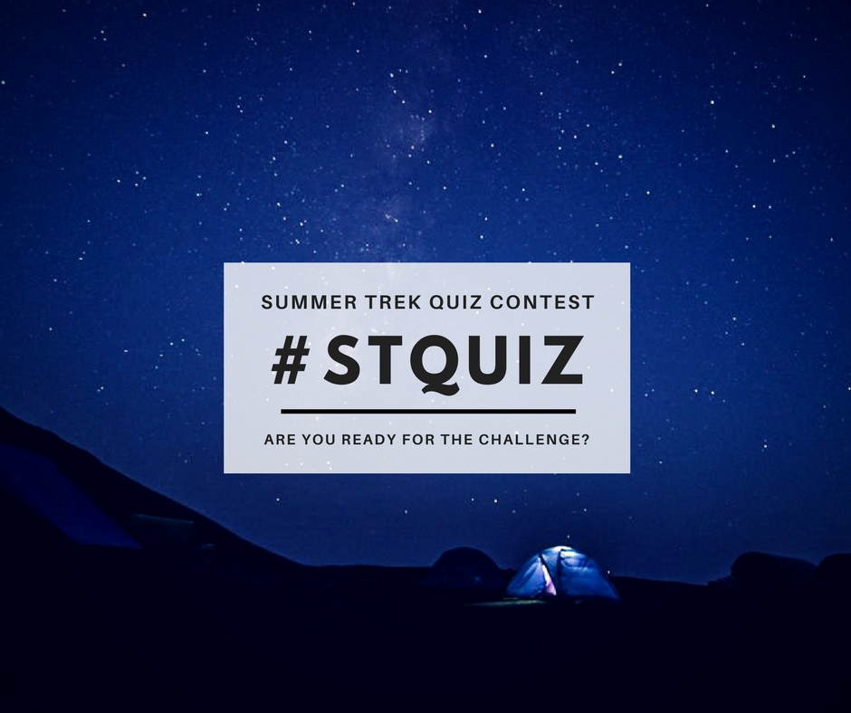 summer trek quiz contest