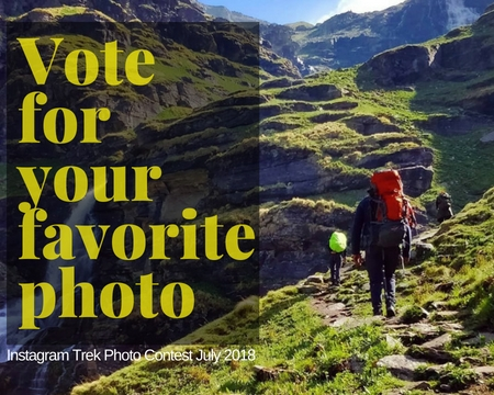Instagram Trek Photo Contest July 2018 Nominations