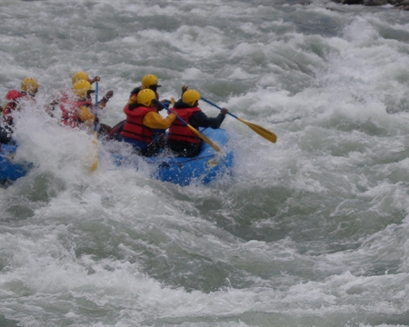 Kali Sharda Rafting Expedition