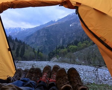 The Manali-Leh Cycling Campsites are Legendary, Here's Why