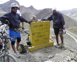 A participant interview - Manali Leh Cycling