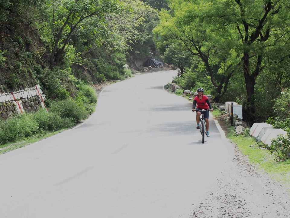 My First Cycle Ride In Mountains - Dehradun to Mussoorie