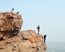 Dhauj Rocks - Climbing Session
