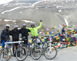 Manali Leh Cycle Expedition