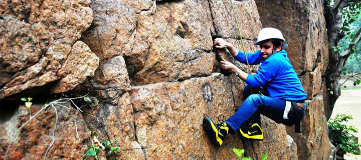 Rock Climbing Session - Lado Sarai Old Rocks