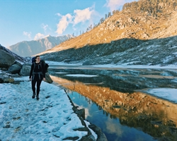 Kareri Lake Winter Trek