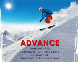 Advance Skiing Course - Gulmarg