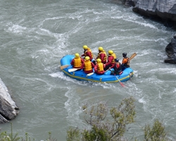 SHIVPURI TO RISHIKESH RAFTING