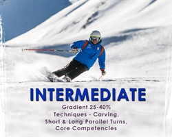 Intermediate Skiing Course - Gulmarg