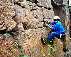 Lado Sarai Old Rocks - Climbing Session