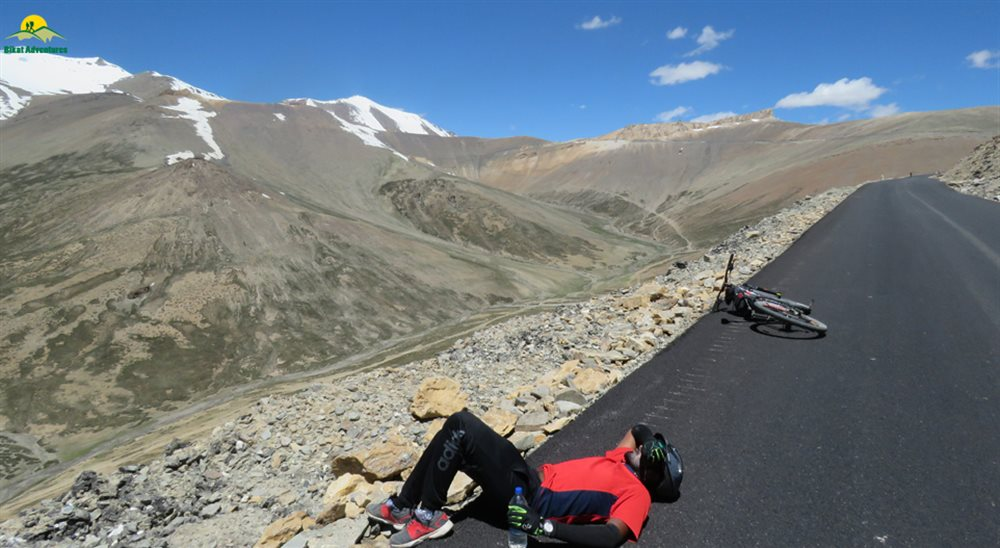 manali to leh cycling best mountain biking route in india