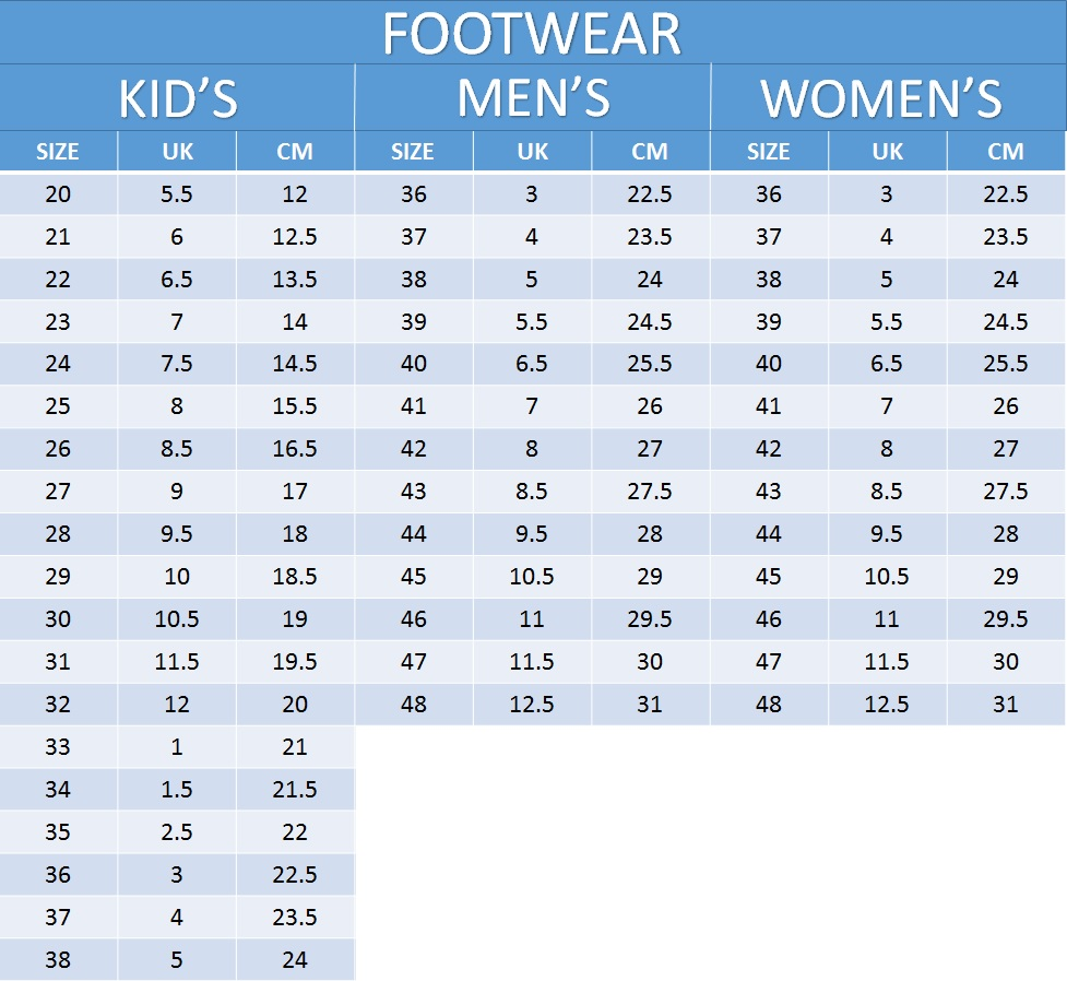 Mm In Us Women S Shoe Size